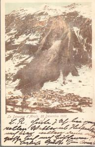 Airolo Switzerland Landslide 1898