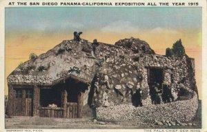 SAN DIEGO , California, 1915 ; Exposition Pala Chief Gem Mine