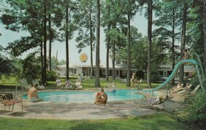 COLUMBIA , South Carolina , 1950-60s ; Forest Motel , Swimming Pool