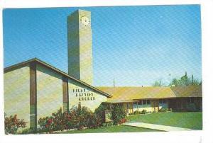 Exterior, First Baptist Church, Mesa, Arizona,  PU-40-60s