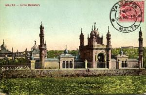 malta, MARSA, Turkish Cemetery, Architect Emanuel Galizia (1913) Stamp