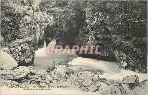 Old Postcard Hautes Pyrenees Cedre Cave Palasset Luz Road has Gavarnie