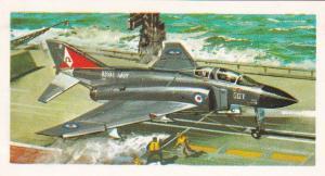Trade Card Brooke Bond Tea History of Aviation black back reprint No 39 Phantom