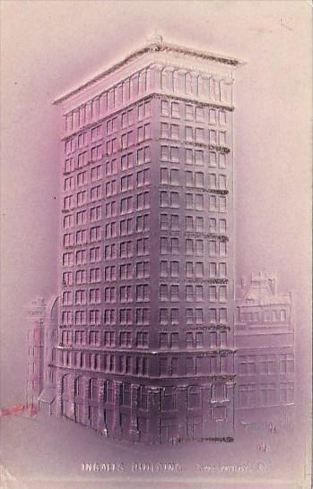 Ohio Cincinnati ingalls Building 1906