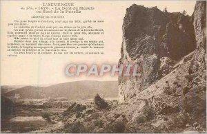 Old Postcard Auvergne Dent du Marais or skip the Maid