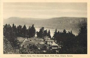 Moore's Camp Port Alexander Beach Chalk River Ontario ON