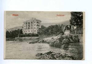 192762 Croatia Opatija ABBAZIA Hotel Vintage postcard