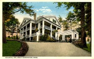 MA - Great Barrington. Colonial Inn