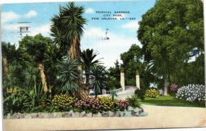 Tropical Gardens, City Park, New Orleans, Louisiana
