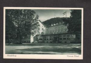 Germany Heidelberg Baden Wuttemberg Victoria Hotel German Postcard Carte Postale
