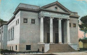 Wichita Kansas~St Pauls Methodist Episcopal Church~1909 Postcard