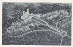 North Carolina Durham Duke University Albertype