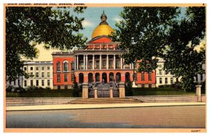 Massachusetts  Boston ,  State House