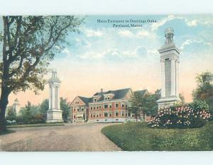 Unused Divided-Back POSTCARD FROM Portland Maine ME HM5450