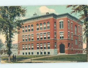 Divided-Back HIGH SCHOOL Rochester New Hampshire NH k0705