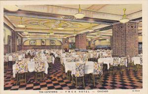 The Cafeteria Y M C A Hotel Chicago Illinois Curteich