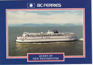 Canada Ferry Queen Of New Westminster British Columbia Ferries