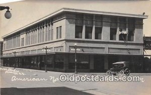 Real Photo - American National Bank Roswell, NM, USA Unused indentation left ...
