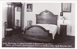 Bedroom Where Franklin D Roosevelt Was Born Roosevelt National Historic Site ...