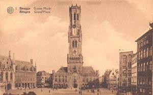 Grand Place Bruges Belgium Unused