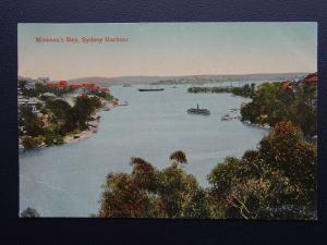 Australia NSW SYDNEY HARBOUR Mosman's Bay - Old Postcard by Valentine