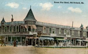 ME - Old Orchard Beach. Forest Pier Hotel