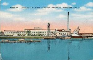 Paper Mill & Converting Plant Marathon Corporation Menominee