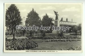 tp8838 - Essex - Garden of Rememberance & War Memorial, Clacton-on-Sea- Postcard