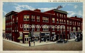 Hotel La Fayette Fayetteville NC Unused