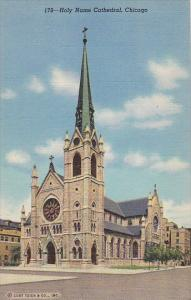 Holy Name Cathedral Chicago Illinois Curteich