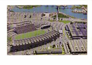 Toronto Exhibition Grounds, Ontario, Bridge, Football Stadium 5.5X9in Oversize