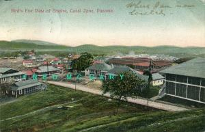 1909 Empire Canal Zone PC: Bird's Eye, Madura Jr. 184C