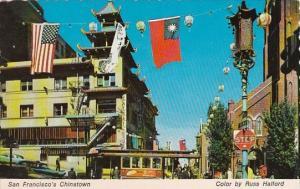 California San Francisco 's Chinatown 1977