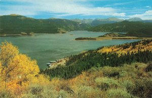 Lake Granby Shadow Mountain, Colorado Postcard
