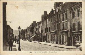 CPA PONTARLIER - Grande Rue (131337)