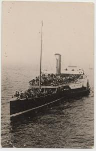 Shipping; Unknown Paddlesteamer RP PPC, Unposted, By Medway Studios, Chatham