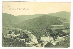 Spa , Belgium , 1890s   panorama de Coo s/Amblese
