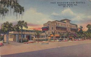 Florida Daytona Beach The Ridgewood Hotel  1955