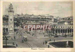 Postcard Modern Bergamo Panorama