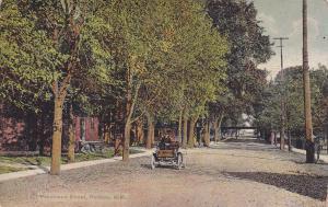 PONTIAC, Michigan, 1900-1910´s; Residence Street