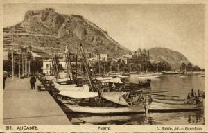 spain, ALICANTE, Puerto, Fishing Boats (1920s) Roisin 511