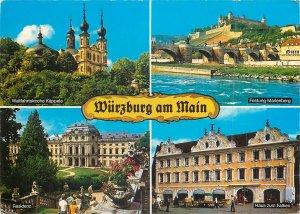 Postcard Germany Wurzburg am Main