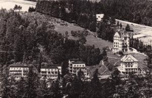RP: Krynica - Fragment Uzdrowiska z Gory Parkowej , Poland 50-60s