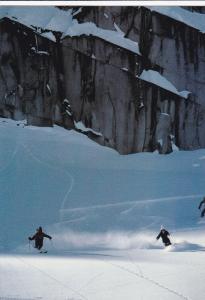 Snow skiing , Whistler Mountain , B.C. , Canada , 50-70s