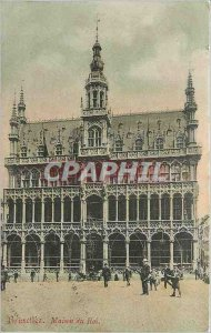 Brussels Old Postcard King's House