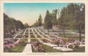 North Carolina Winston Salem The Moravian Graveyard Albertype