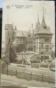 Belgium Antwerpen Het Steen Anvers Le Steen - posted 1926