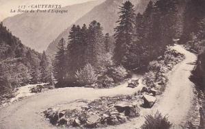 France Cauterets La Route du Pont d'Espagne 1936