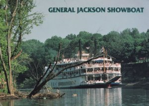 General Jackson Showboat Nashville Tennessee Ship Postcard