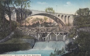 LUXEMBOURG , 00-10s ; Peteusse et Pont Adolphe